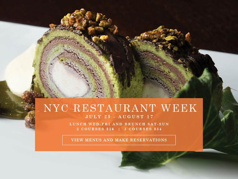 View Menu and Make Reservations for New York City Summer Restaurant Week