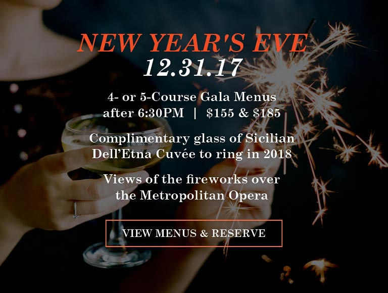 New Years Eve at Lincoln Ristorante