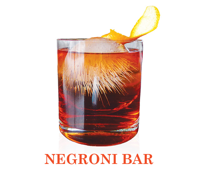 Join Us at the Negroni Bar