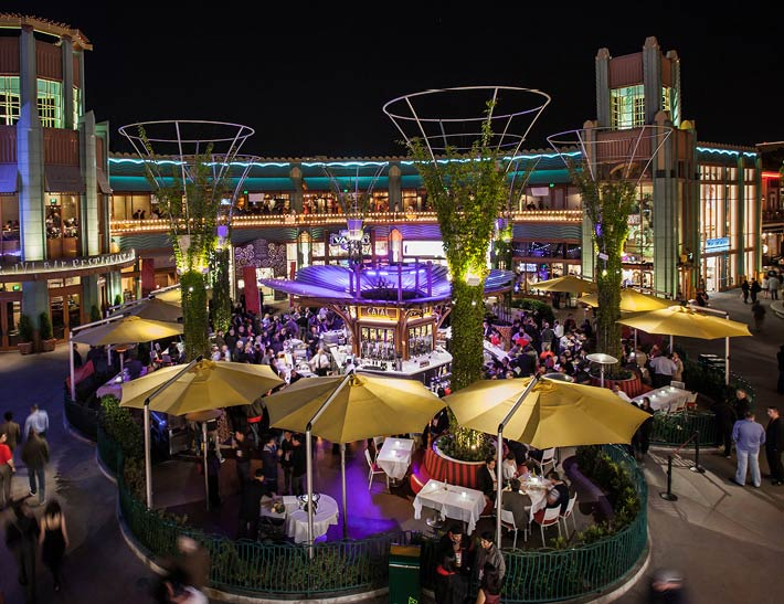 Catal & Uva outdoor patios | Special Events at Downtown Disney District