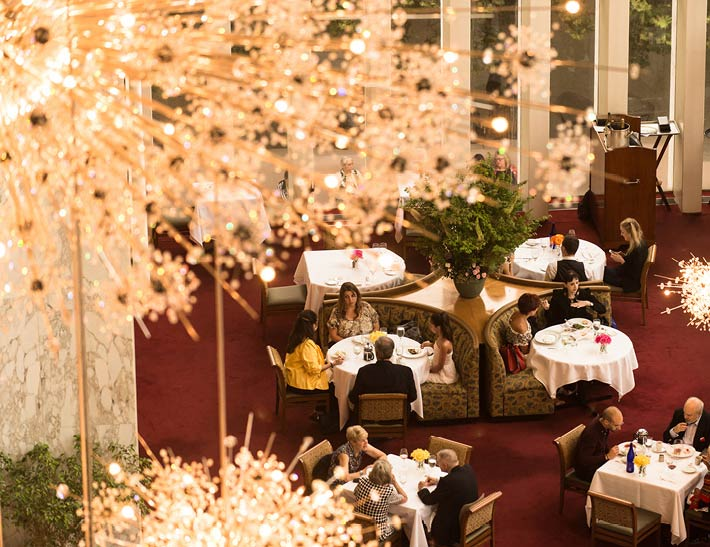 The Grand Tier Dining Room