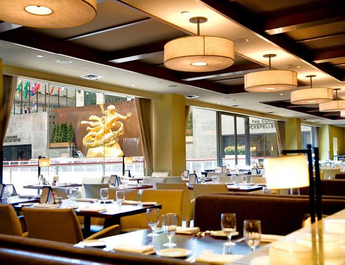Rock Center Cafe Dining Room