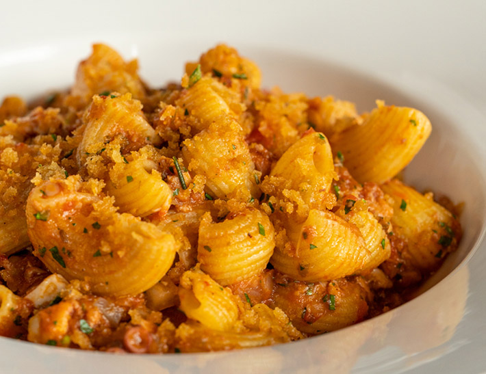 Pasta served at Lincoln Ristorante in NYC