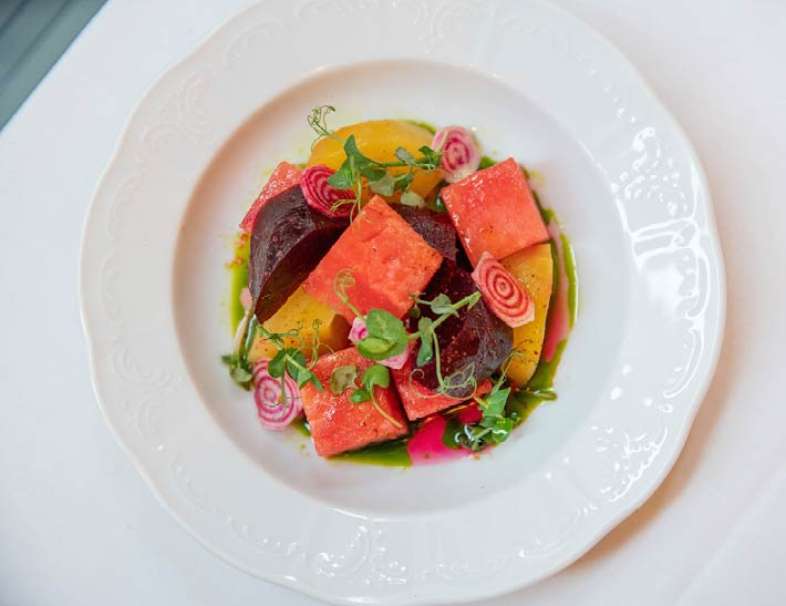 Beet Salad, French Dining NYC