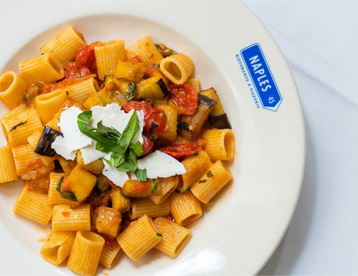 Fresh house made pasta, dining at The MetLife Building, NYC