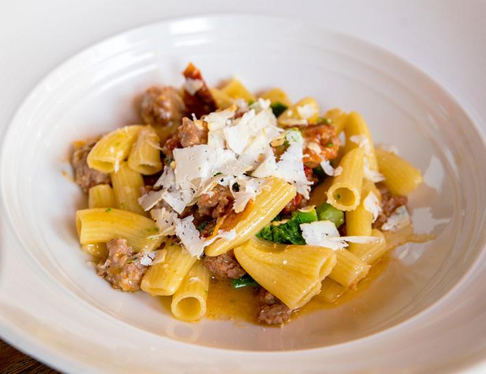 Rigatoni pasta  served at Lincoln Ristorante in NYC