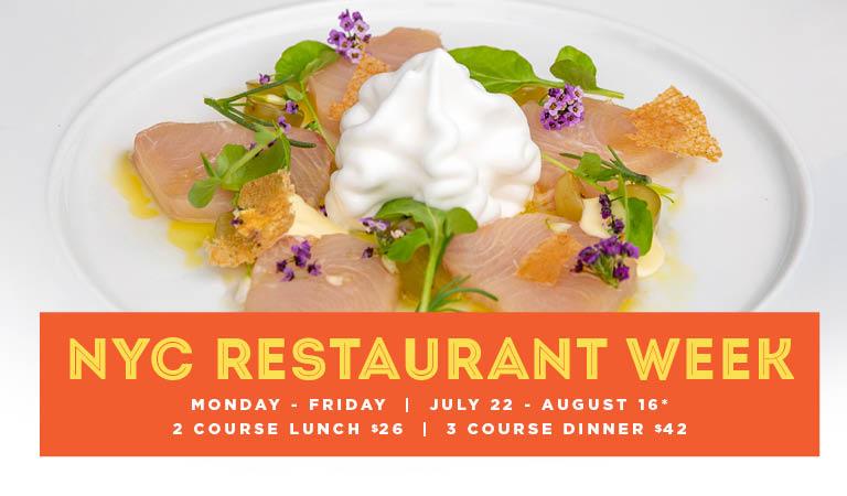 Fonda restaurant week