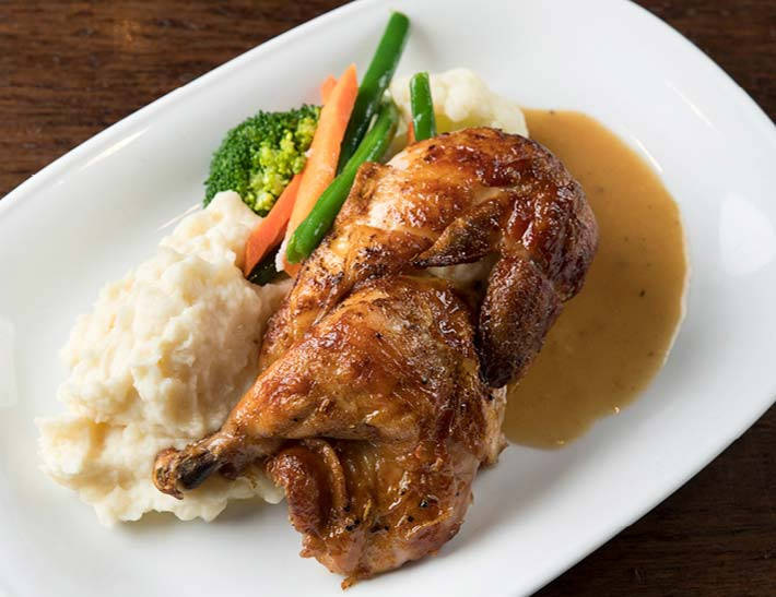 Chicken Dinner, Holiday Dining at Cucina & Co.