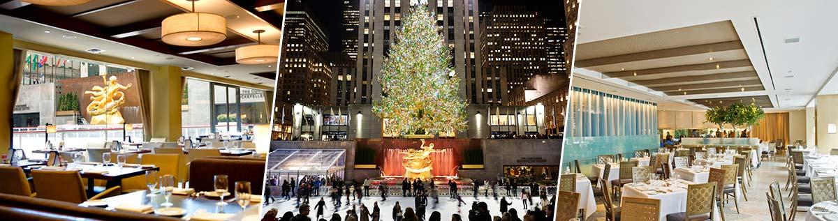 Holiday Dining In New York Ny Restaurants At Rockefeller Center