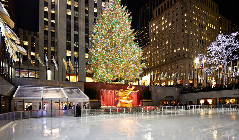 The Rink at Rockefeller Center in NYC
