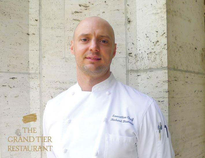 Chef Diamonte Grand Tier Restaurant