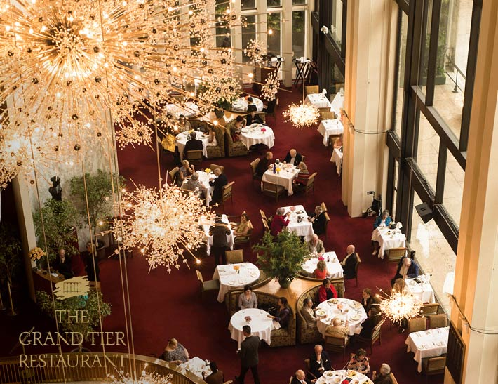 Grand Tier Restaurant Dining Room
