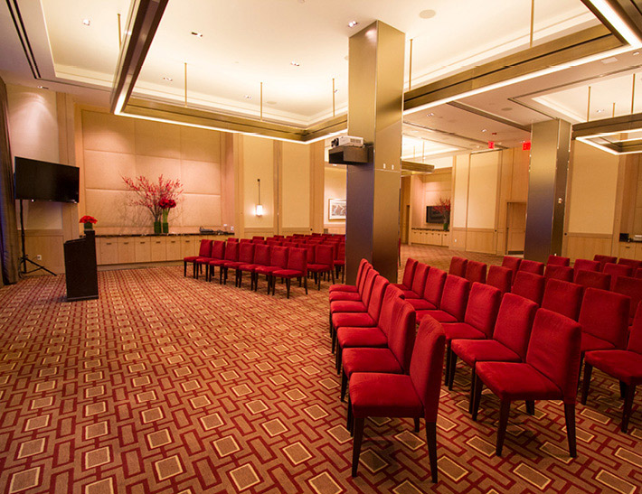 Private event space inside Vanderbilt Suites in midtown NYC