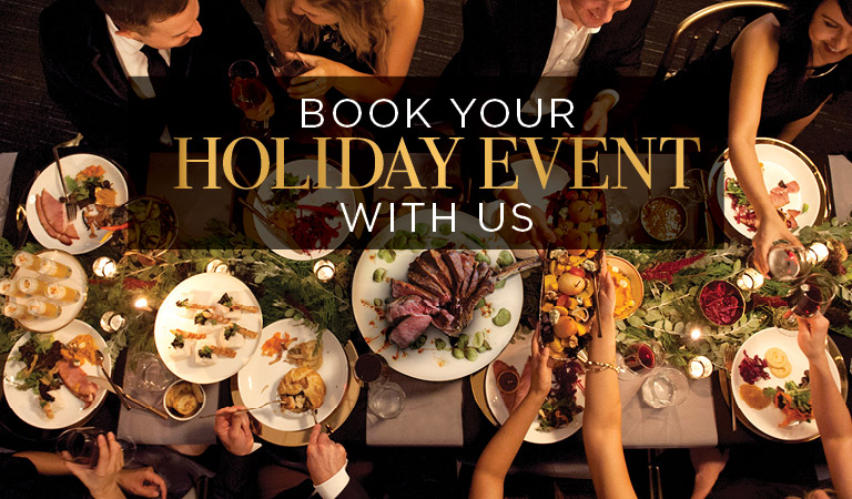 Book your next holiday event with us | Patina Restaurant Group