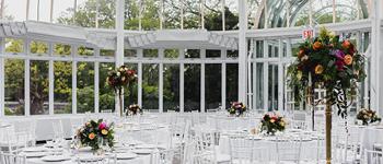 Dining room at Brooklyn Botanic Garden