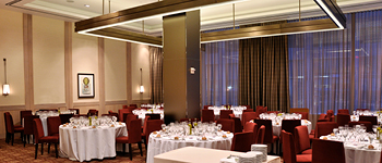 Vanderbilt Suites dining room, The MetLife Building, NYC restaurant