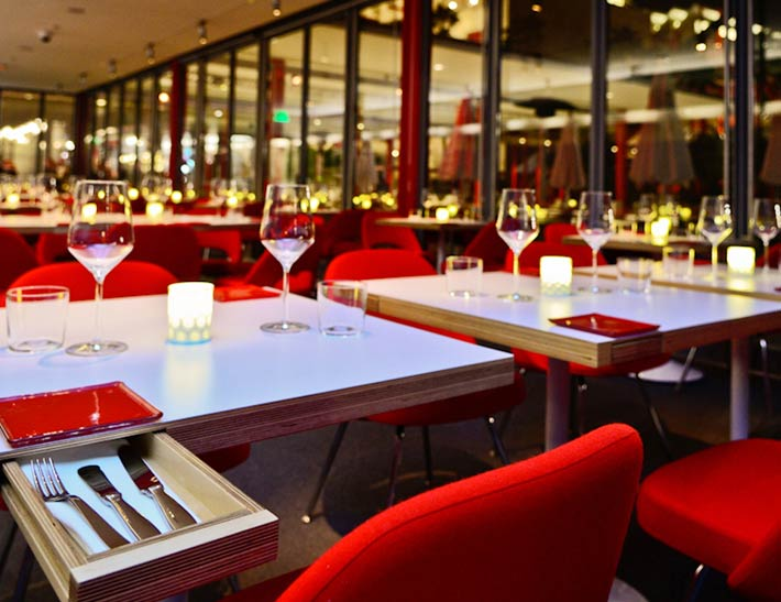 Ray's Stark Bar at LACMA | Dining Area