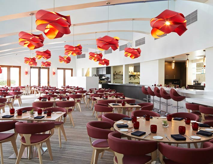 Tangata Restaurant at Bowers Museum Dining Area