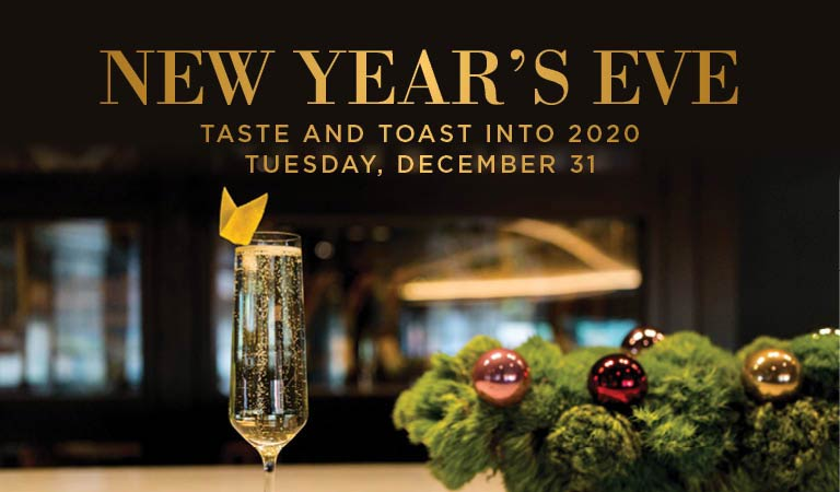 Taste & Toast into 2020 with New Year's Eve in Los Angeles
