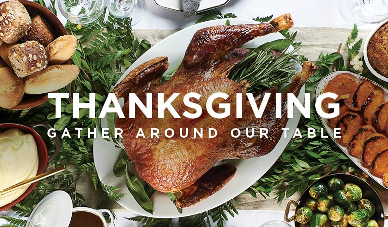 Gather Around Our Table, Thanksgiving in Los Angeles and Orange County