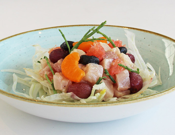Hamachi Tartare served at Ray's and Stark Bar in Los Angeles
