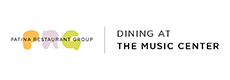 PRG | Dining at The Music Center Logo
