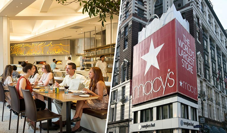 Macy's Herald Square Restaurants