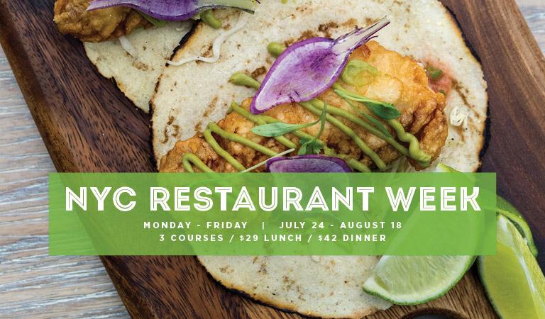 Winter NYC Restaurant Week 2017