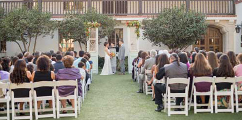 Bowers Museum Wedding