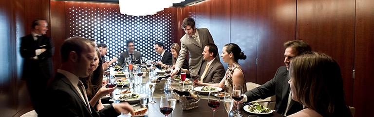 Lincoln Ristorante Private Dining Room
