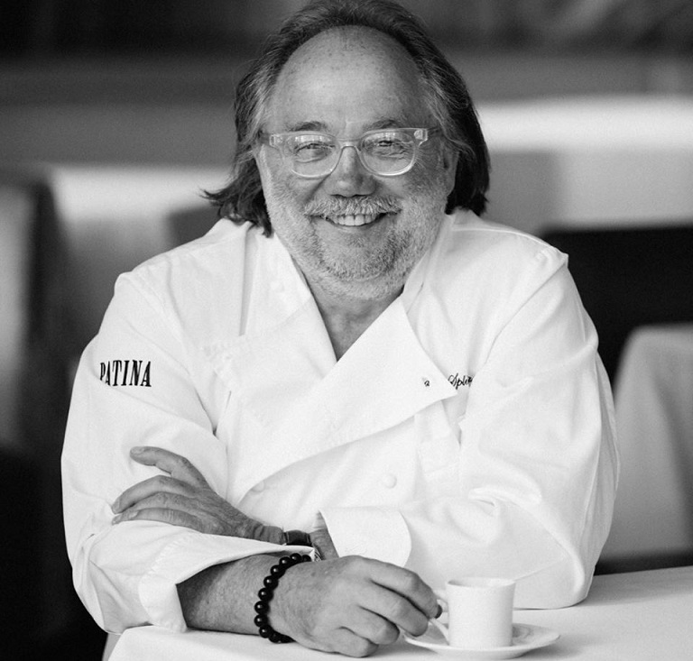 Joachim Splichal, Patina Restaurant Group chef and founder