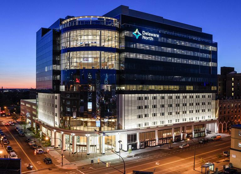 Delaware North corporate headquarters in Buffalo, NY