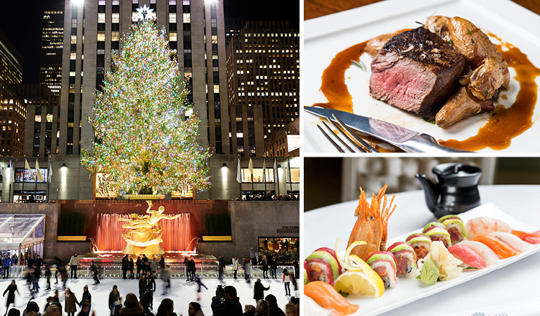 Holiday Dining at Rockefeller Center