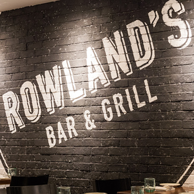 Rowland's Bar and Grill logo