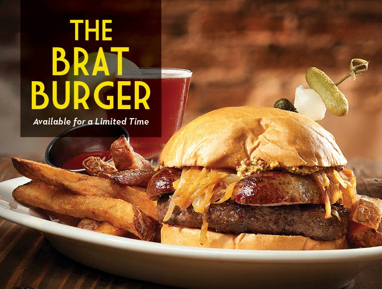 The Brat Burger available for a limited time, Disney Springs Restaurant