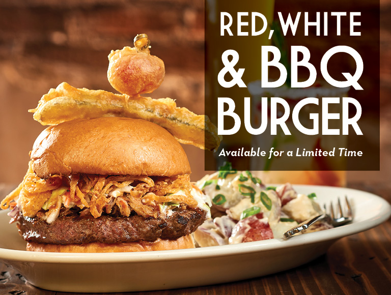 Red White & BBQ Burger, Disney Springs Restaurant
