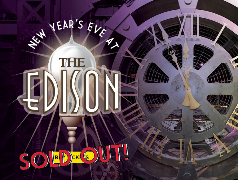 Buy Tickets for New Year's Eve at The Edison, Disney Springs
