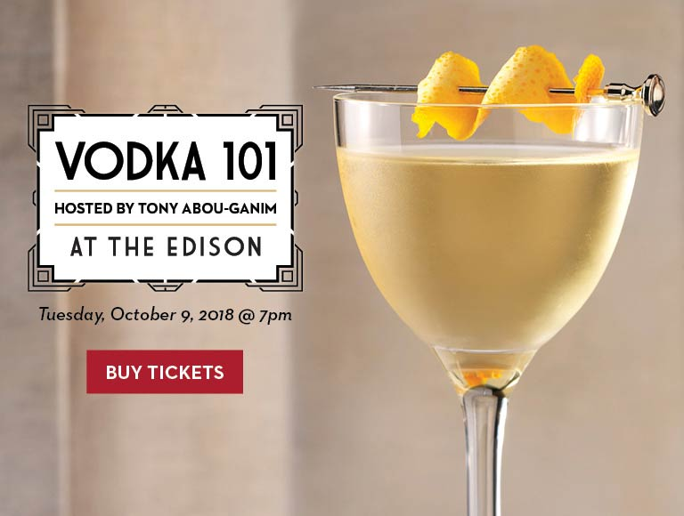Buy Tickets for Vodka 101 at The Edison, Disney Springs, Orlando