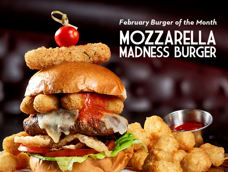 Mozzarella Madness Burger available for a limited time, Disney Springs Restaurant