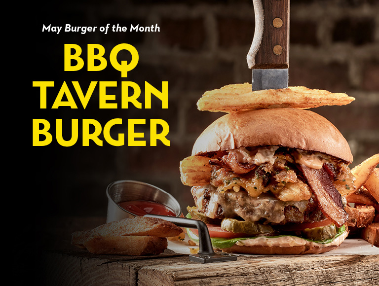 May Burger of the Month | BBQ Tavern Burger | Disney Springs Restaurant