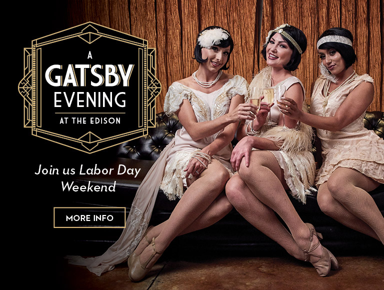 More Info | A Gatsby Evening at The Edison in Disney Springs