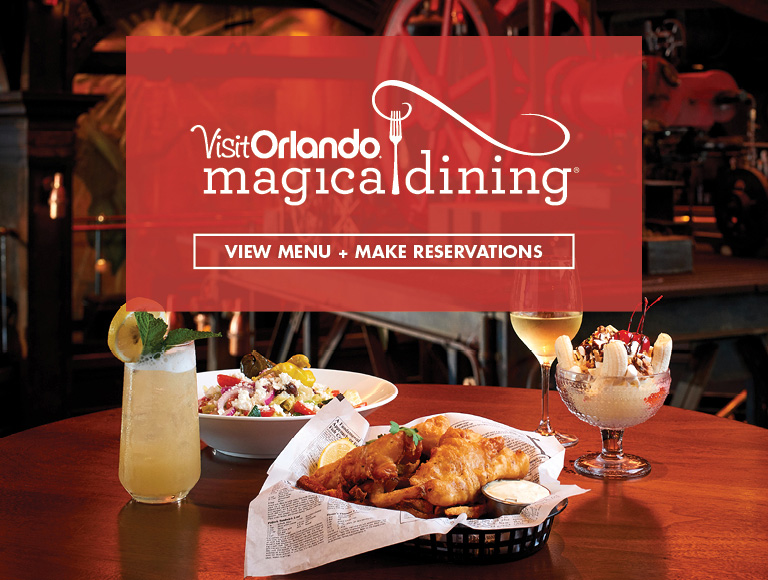 View Menu + Make Reservations | Visit Orlando's Magical Dining Month at The Edison in Disney Springs