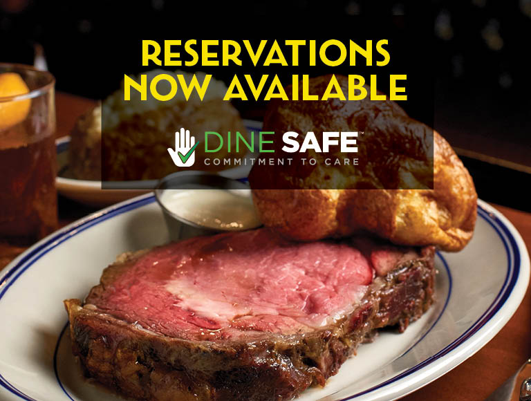 Reservations Now Available | Dine Safe Commitment To Care