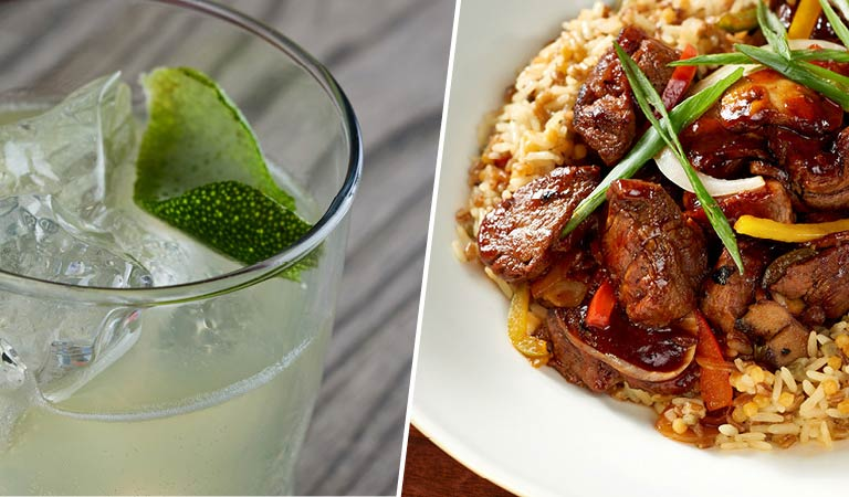 Classic Cocktails & Food