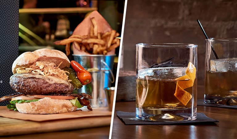Burgers and Drinks Disney Springs