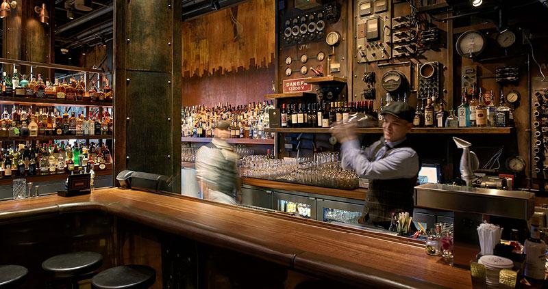 The Edison Restaurant Bar In Disney Springs Fl