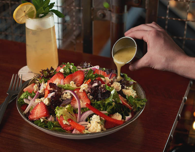 Watermelon Tomato Salad, Fresh foods, The Edison