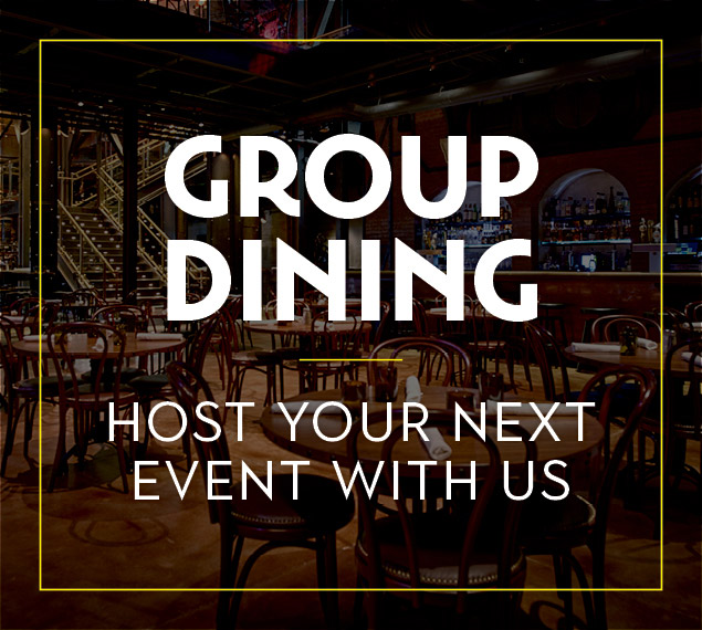 Group Dining | Host Your Event with Us