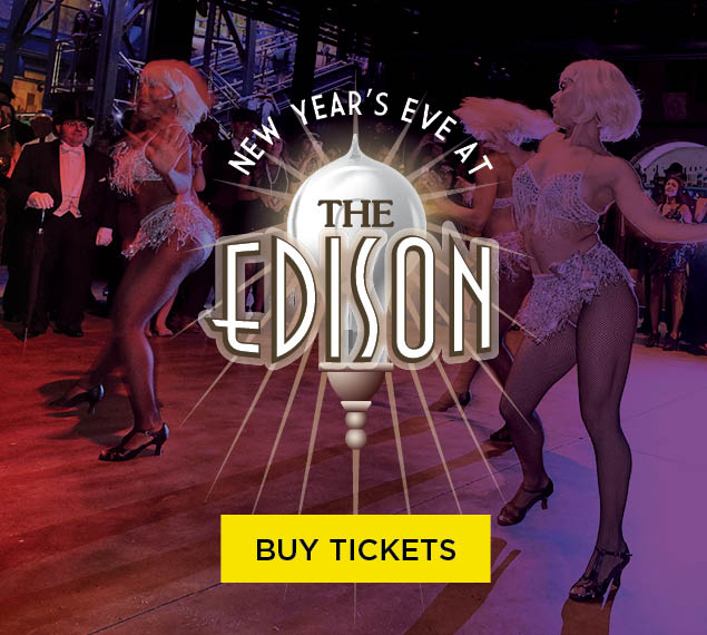 Buy Tickets | New Year's Eve at The Edison in Disney Springs