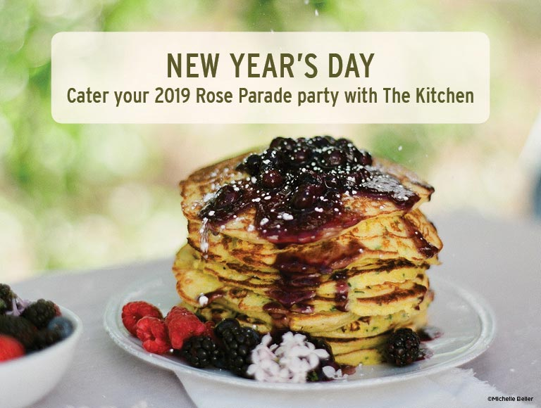 Let The Kitchen for Exploring Foods Cater Your 2019 Rose Parade party